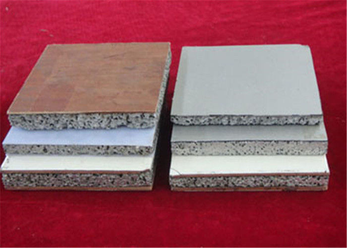 Composite Aluminium Foam Panels 75%~90% Porosity 600*1200mm Standard Size