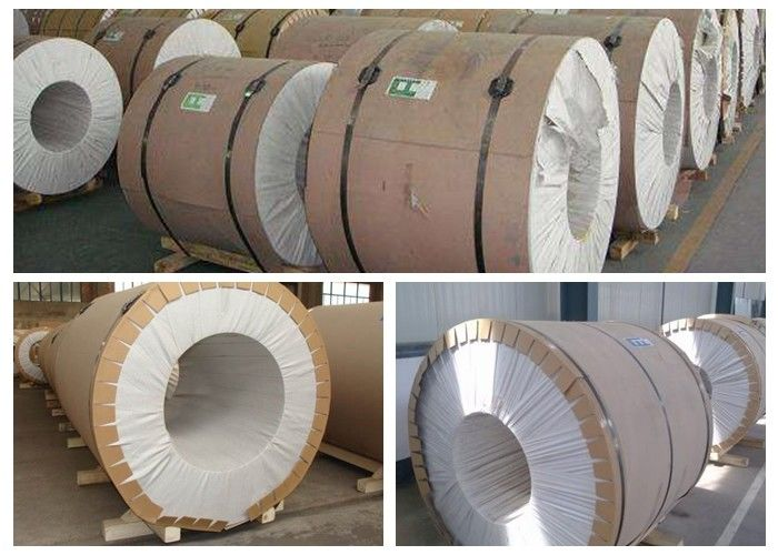 EN AW 5182 Aluminum Coil Stock For Commercial Tanker Body 10 - 1800mm Width