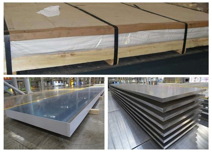 Thin Alloy 6010 T4 Aluminum Sheet , Automobile Outer Plate Alu 6010 Plate